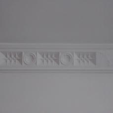 Coronet Flats plaster work