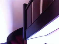 Coronet Flats staircase