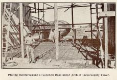 Construction work, Walter Taylor Bridge