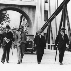 Official opening of the Indooroopilly Toll Bridge Brisbane 1936