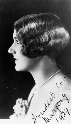 Actress Margery Hickling, 1927