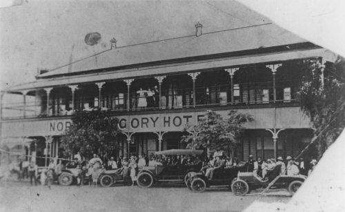 North Gregory Hotel Winton ca 1907