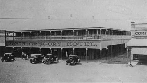 North Gregory Hotel Winton ca. 1924