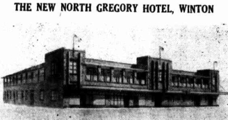 Plan for North Gregory Hotel, Longreach Leader, 10 September 1948, p.9