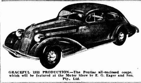 %22The Motor Show%22, The Courier Mail, 13 August 1935, p.31