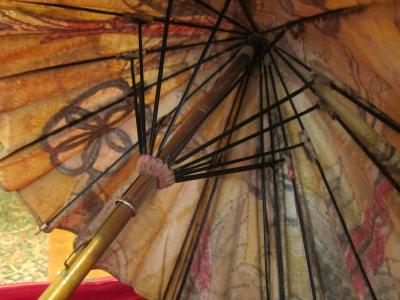 Beach parasol (inside)