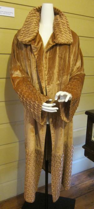 Peach theatre coat
