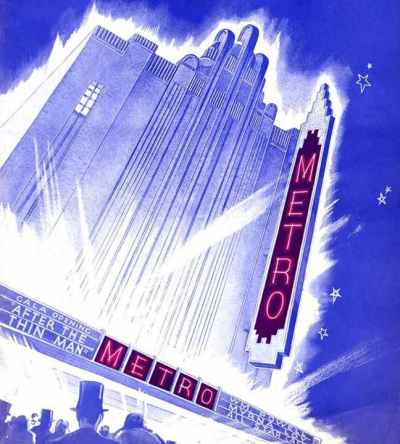 Metro Theatre Souvenir Program cover