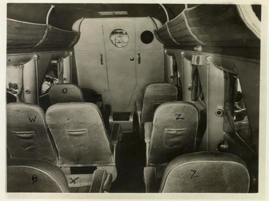 Stinson plane interior