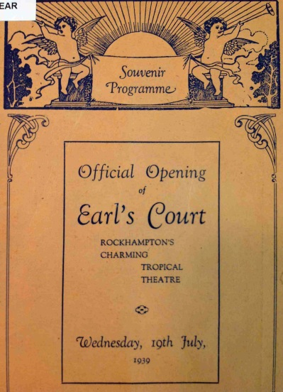 Earl's Court souvenir program cover