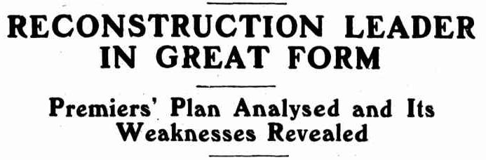 Daily Standard (Brisbane), 28 May 1932, page 1