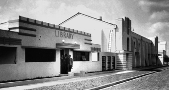Murgons new public library 1938