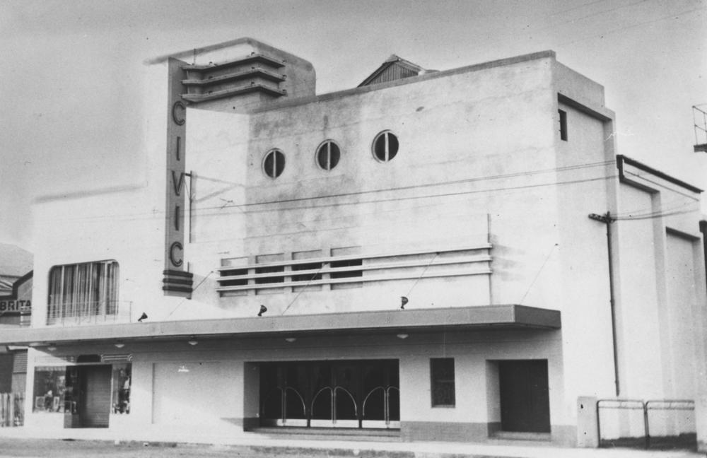 mackay civic theatre a lost art deco cinema queensland deco project. Black Bedroom Furniture Sets. Home Design Ideas