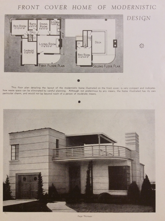 Look Inside The Home Builders Annual 1938 Queensland Deco Project